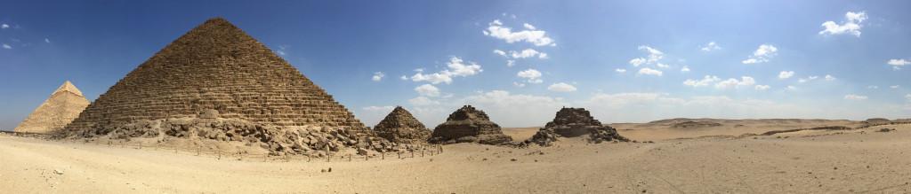 Queens Pyramids Egypt